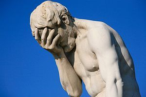 300px-Paris_Tuileries_Garden_Facepalm_statue from Wikipedia