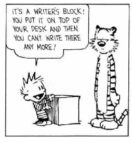 my kind of writers block